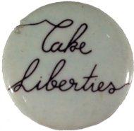 Cake Liberties Pin