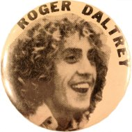 Roger Daltrey Pin