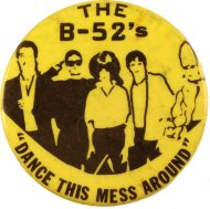 The B-52's Pin