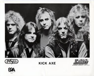Kick Axe Promo Print