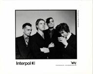 Interpol Promo Print