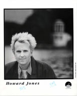 Howard Jones Promo Print