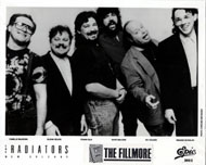 The Radiators Promo Print