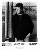Vince Gill Promo Print