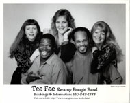 Tee Fee Swamp Boogie Band Promo Print