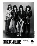 The Georgia Satellites Promo Print