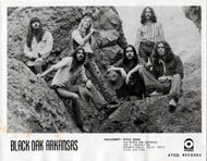 Black Oak Arkansas Promo Print