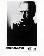 Warren Zevon Promo Print
