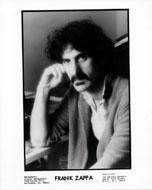 Frank Zappa Promo Print