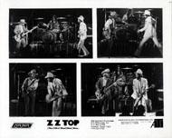 ZZ Top Promo Print