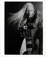 Johnny Winter Vintage Print