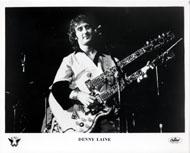 Denny Laine Promo Print