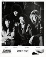 Quiet Riot Promo Print