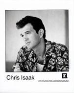 Chris Isaak Promo Print
