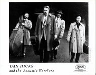 Dan Hicks & the Acoustic Warriors Promo Print