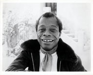 James Baldwin Vintage Print