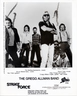 Gregg Allman Band Promo Print