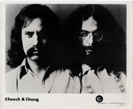 Cheech and Chong Promo Print