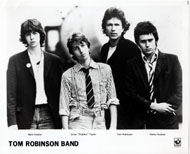 Tom Robinson Band Promo Print