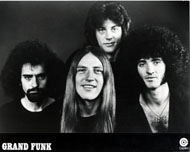 Grand Funk Railroad Promo Print