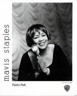 Mavis Staples Promo Print