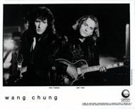 Wang Chung Promo Print