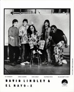 David Lindley and El Rayo X Promo Print