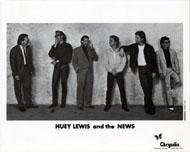 Huey Lewis & the News Promo Print