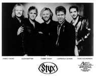 Styx Promo Print