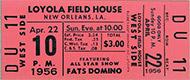 Fats Domino Vintage Ticket