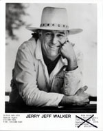 Jerry Jeff Walker Promo Print