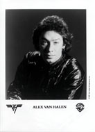 Alex Van Halen Promo Print