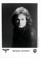 Michael Anthony Promo Print