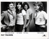 Pat Travers Promo Print