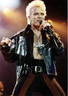 Billy Idol Vintage Print