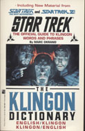Then Klingon Dictionary Book