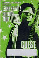 Lenny Kravitz Backstage Pass