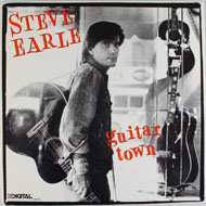 "Steve Earle Vinyl 12"" (Used)"