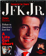 Forever In Our Hearts JFK Jr. Magazine