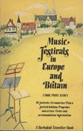 Music Festivals In Europe And Britain Book