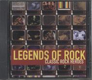 Legends Of Rock: Classic Rock Heroes CD