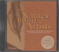 The Names Behind The Artists Vol. 2 CD