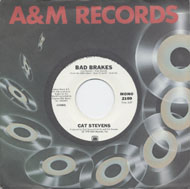 """Cat Stevens Vinyl 7"""" (Used)"""