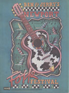Ben & Jerry's Newport Folk Festival Program
