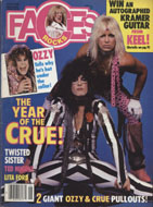 Rocks Faces Vol. 3 No. 7 Magazine