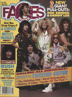 Rocks Faces Vol. 3 No. 6 Magazine