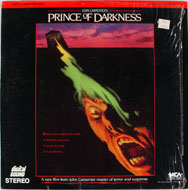 Prince of Darkness Laserdisc