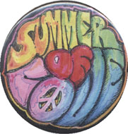 Summer Of Love Pin