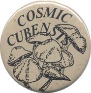 Cosmic Cubensis Pin