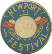 Newport Jazz Festival Pin